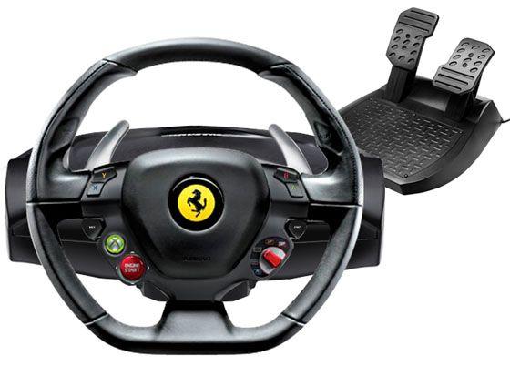 Ferrari 458 Italia Racing Wheel For Xbox 360 Pc Ferrari 458 Italia Racing Wheel Ferrari 458