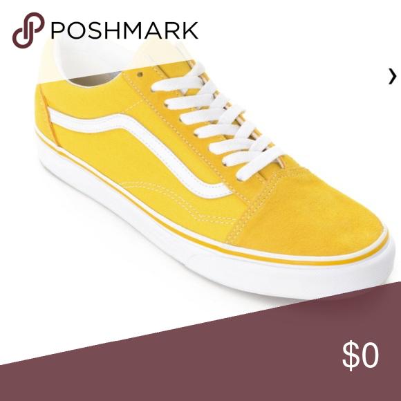 vans old skool yellow damen