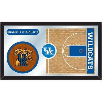 Holland Bar Stool NCAA Basketball Mirror Framed Graphic Art NCAA Team:
