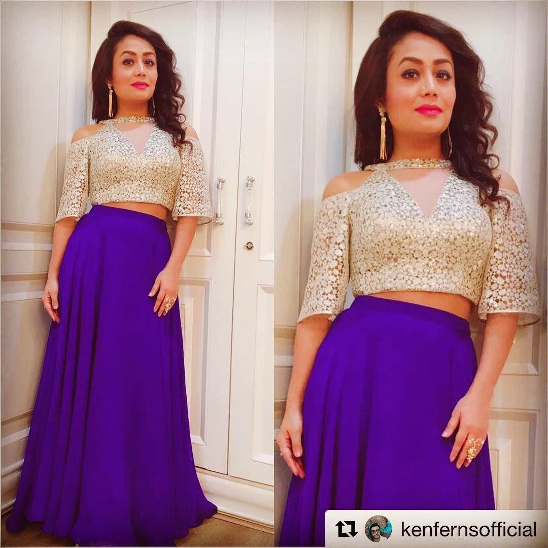 Repost Kenfernsofficial Neha Kakkar Dresses Indian Gowns Dresses Indian Gowns