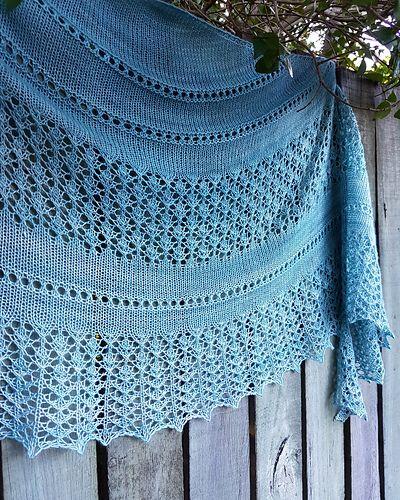 Vilana Shawl pattern by Irina Lyubaeva