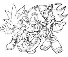 Sonic The Hedgehog Coloring Pages Printable Sonic Generations