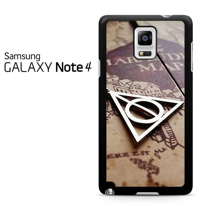 Deathly Hallows Symbol And Marauders Map Harry Potter Samsung Galaxy