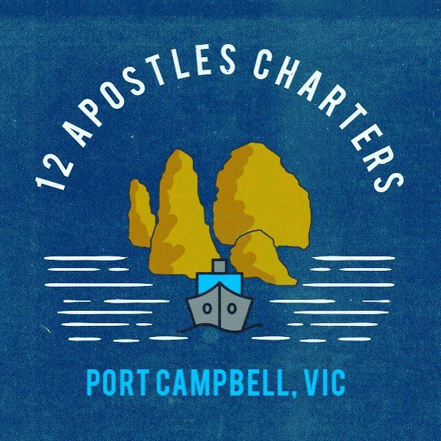 Thanks @snitdoc for our amazing new logo #notlongnow #12apostlescharters #portcampbell #boattours #scenictours #greatoceanroad #12apostles #boatlife by 12apostlescharters