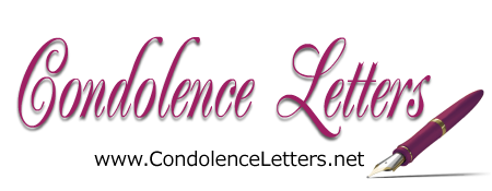 Sample Condolence Letters  Sympathy Letters  Eulogy Examples