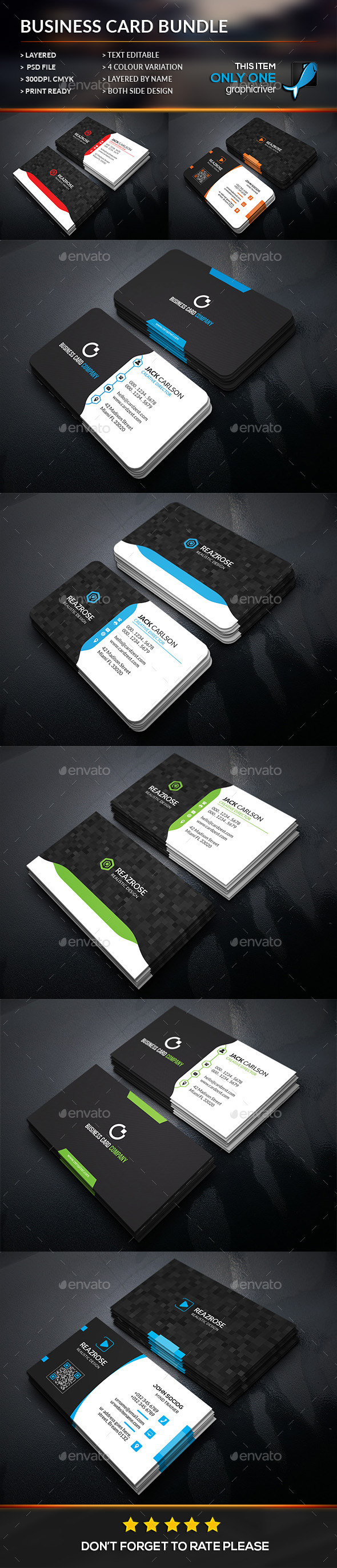Creative business card bundle business cards print templates creative business card bundle business cards print templates download here http reheart Images