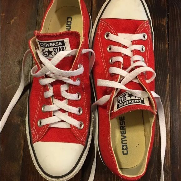 e004b9cea27f Converse Shoes - Red Converse Chuck Taylor All Star size 8.5