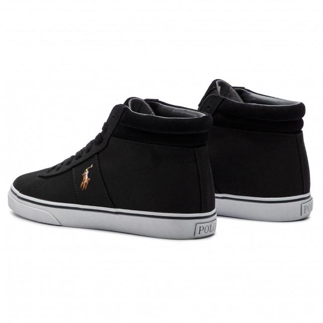 Sneakersy Polo Ralph Lauren Shaw 816749370001 Black Sneakersy Polbuty Meskie Eobuwie Pl Polo Ralph Lauren Ralph Lauren Lauren Shaw