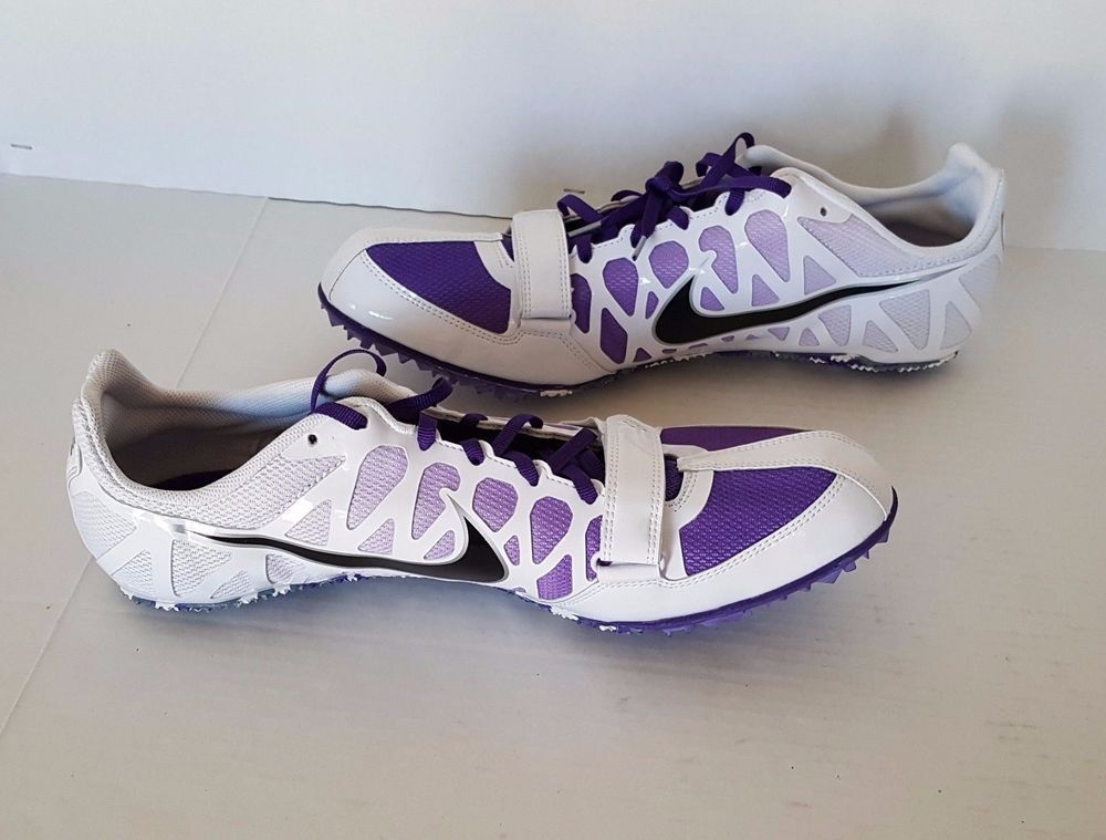 fe003f14cd4c Nike Mens Zoom Rival S Spike Track Running Shoes With Wrench Spikes Size 12  NWOB
