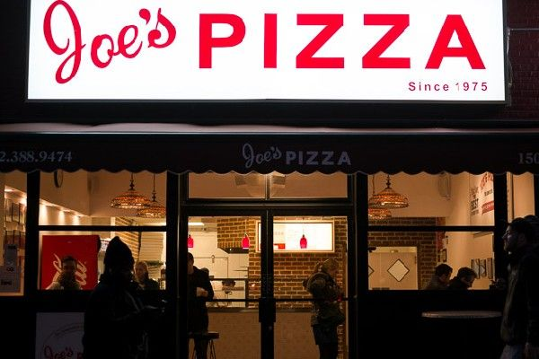 Joe 39 S Pizza The Greenwich Village Institution New York City Guide City Guide New York City Travel