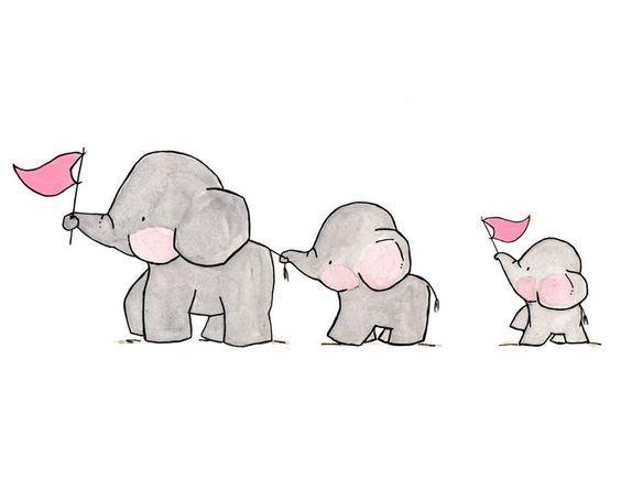 Elephants on Parade — Archival Print