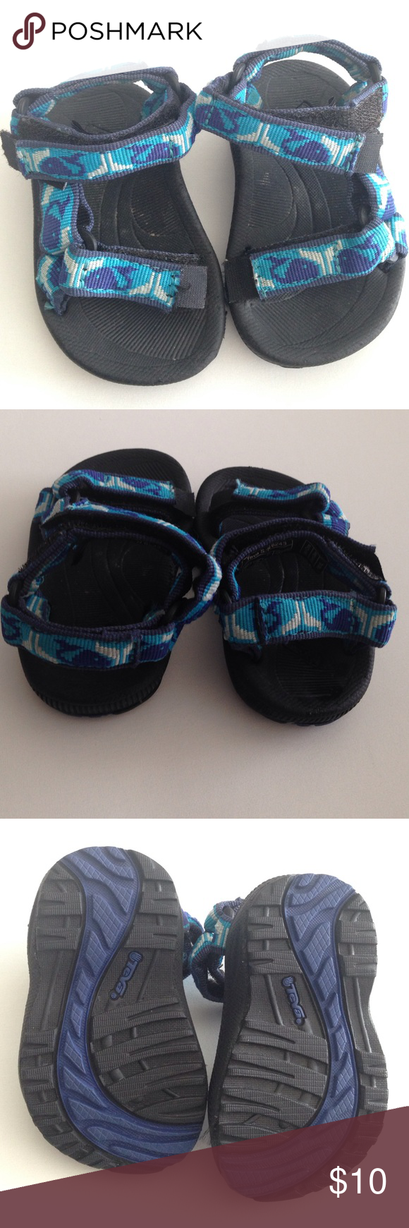 Baby teva sandals Make an offer for these very gently used sandals Teva Shoes Sandals & Flip Flops