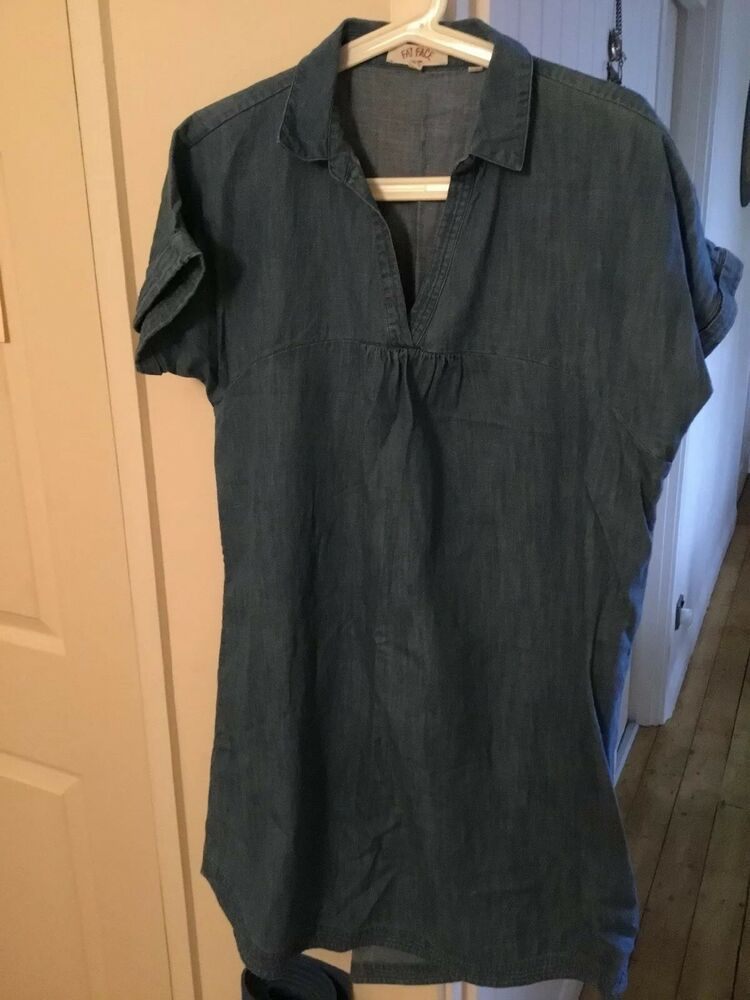Fat Face Denim Jacket Size 14 Clothing, Shoes & Accessories Women's Clothing