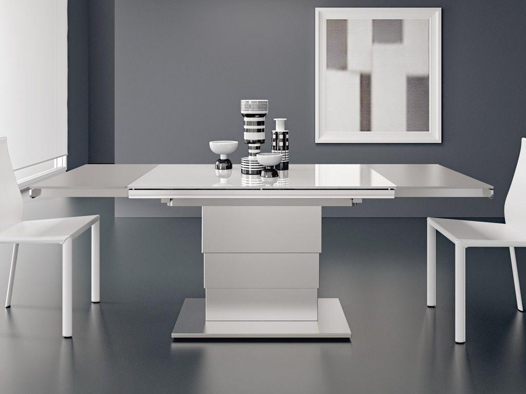 Pin Su Tavolino Trasformabile In Tavolo Ares Glass