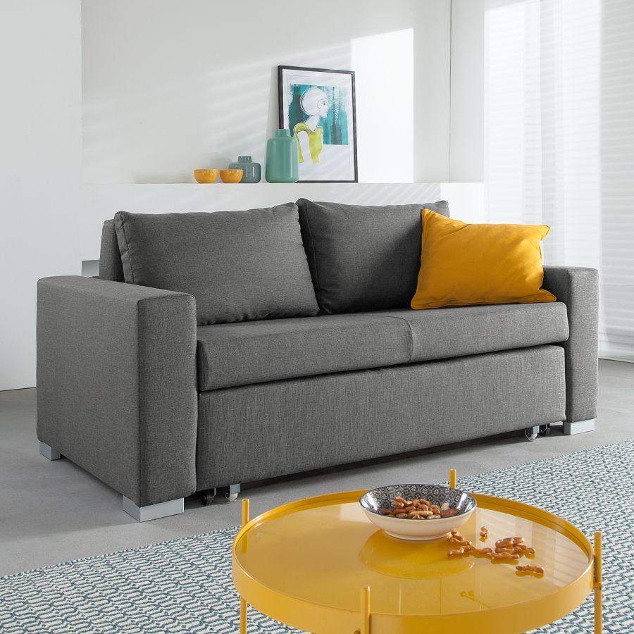 canap convertible latina iv tissu gris 170 cm studio pinterest bureau. Black Bedroom Furniture Sets. Home Design Ideas