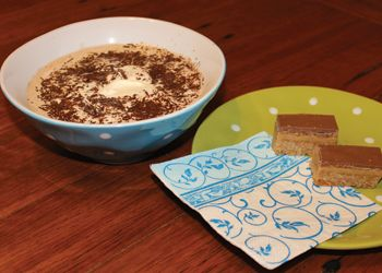 Delicious and rich hot chocolate recipe