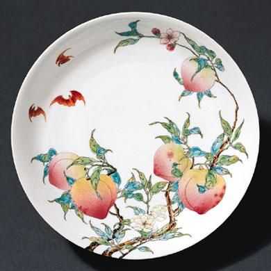 www.school.edu.ru :: Блюдо. 1723— 35 Период Цин Фарфор ...
