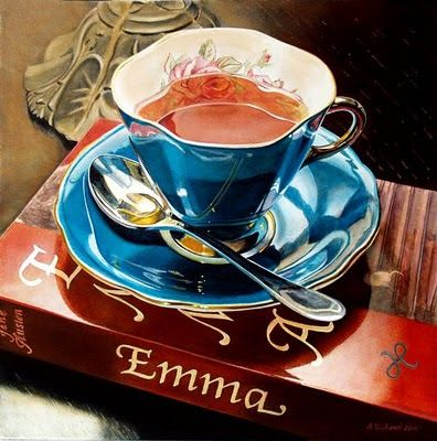 ACRYLIC and LIGHT: Tea with Emma