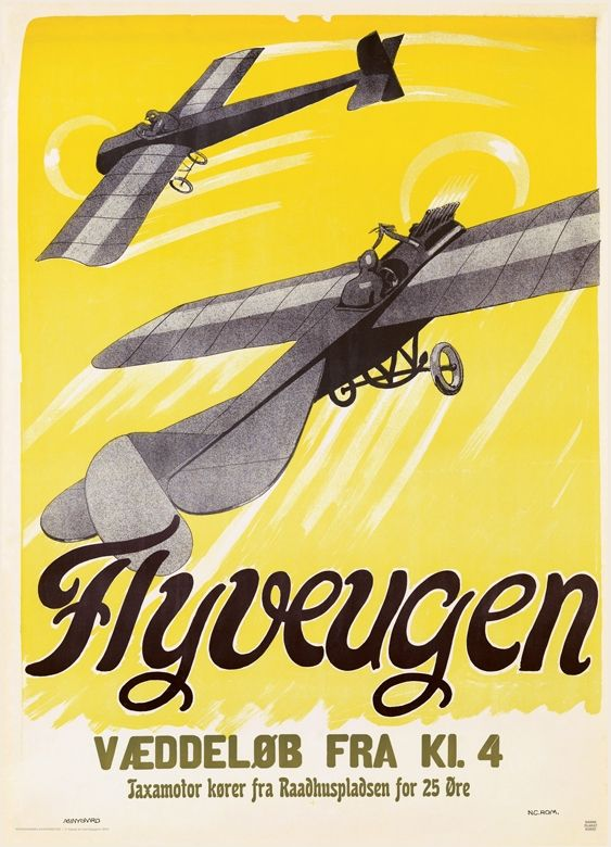 """Reminds me of """"Rosalie Goes Shopping"""". Danish #posterart from 1909 - amazing."""