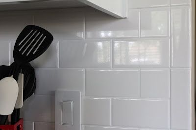 Bullnose Tile Edge White Subway Tiles Kitchen Backsplash White