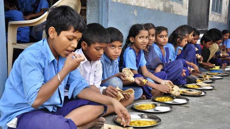 Photo of Mid-day meal inspires 'Education to All'