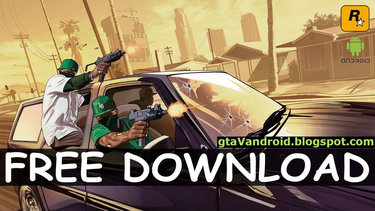 GTA 5 For Android Apk+Data Highly Compressed 82MB Only 100% Working