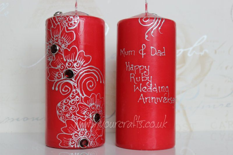 Mehndi Henna Candles : Personalised mehndi henna candles ebay