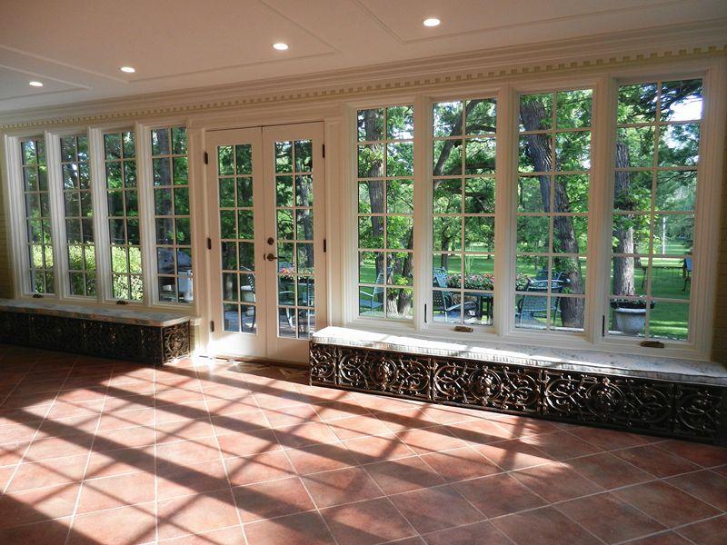 Quaker Wood Brighton Series Casement Windows And Patio