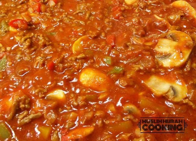 Resep Bolognese Sauce With Mushroom Oleh Muslim Hijrah Resep Pasta Tomat Resep Jamur