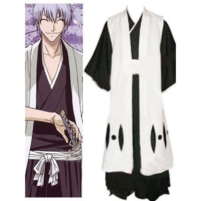 Bleach 3rd Division Captain Ichimaru Gin Halloween Cosplay Costume For Sale