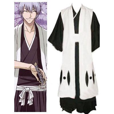 Bleach 3rd Division Captain Ichimaru Gin Halloween Cosplay Costume For Sale