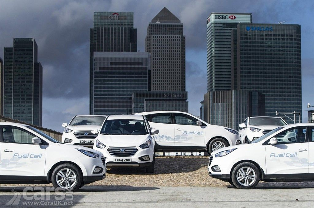 Hyundai ix35 Fuel Cell actually costs £67,965 but you