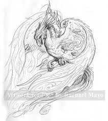 Traditional Japanese Phoenix Drawing Google Search Phoenix Tattoo Design Phoenix Drawing Phoenix Tattoo