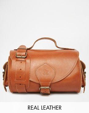 Grafea Leather Across Body in Tan