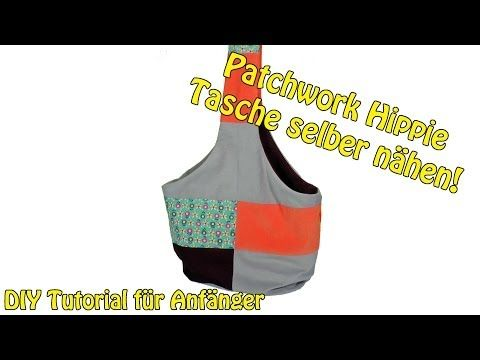 diy patchwork hippie tasche selber n hen n hen f r anf nger tutorial youtube n hen. Black Bedroom Furniture Sets. Home Design Ideas