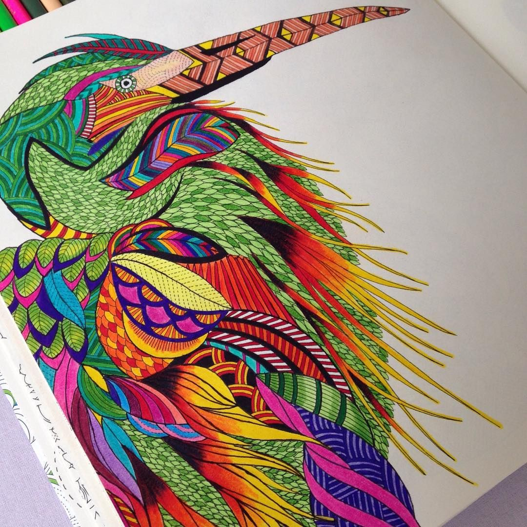 Milliemarotta animalkingdom adultcoloring colouring animal
