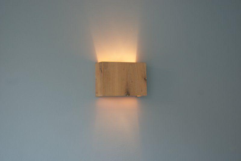 Wandlamp Steigerhout Slaapkamer : Eiken wandlamp interior design wandlamp