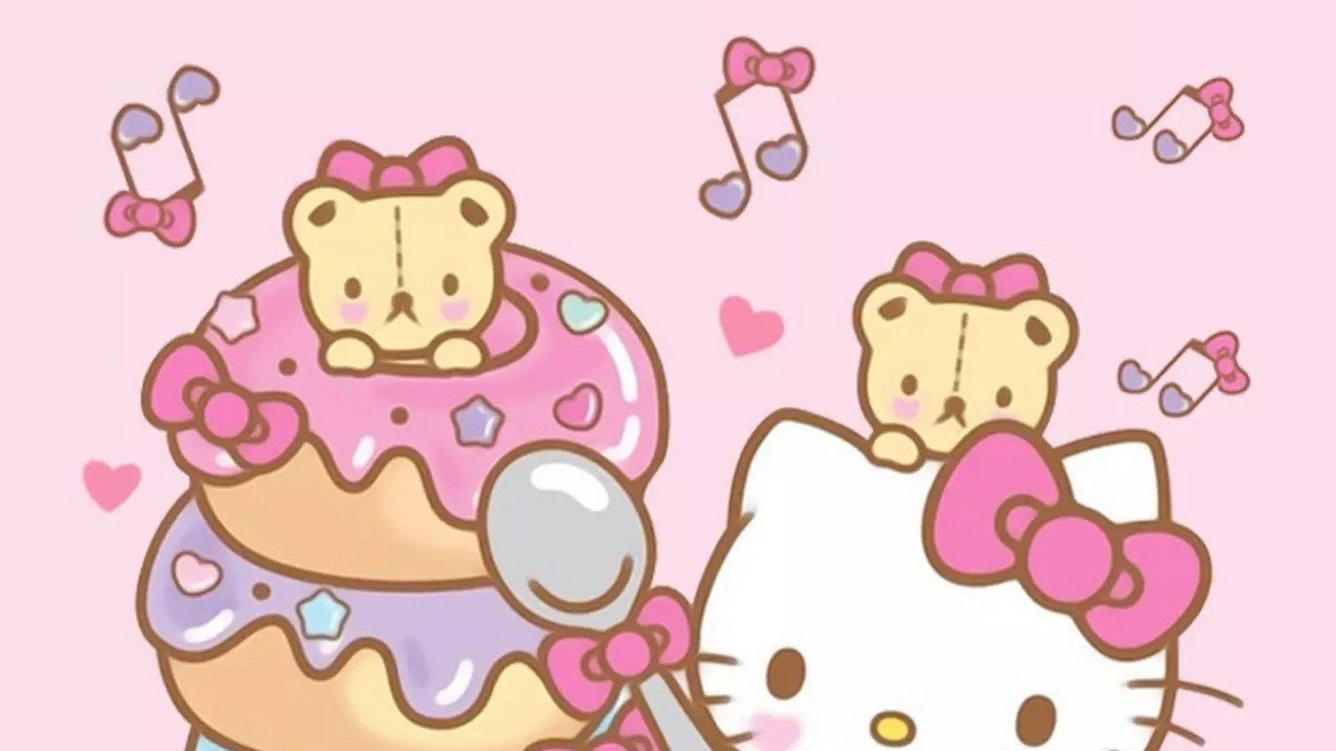 Wallpaper Hello Kitty Pictures Hd 2021 Live Wallpaper Hd Hello Kitty Pictures Cute Wallpapers Kitty Wallpaper