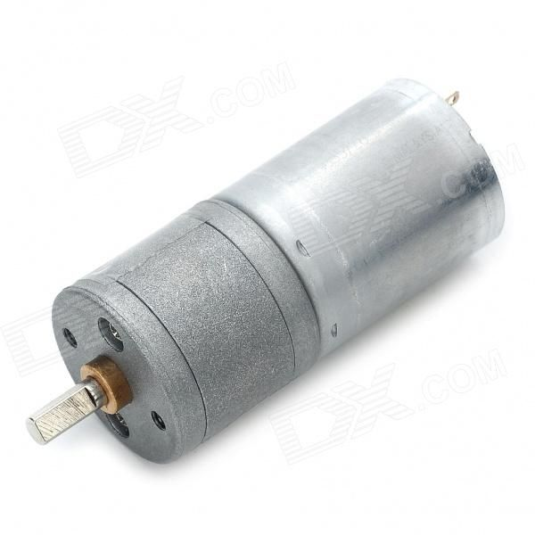 High Torque 80RPM 12V DC Geared Motor - Free Shipping - DealExtreme