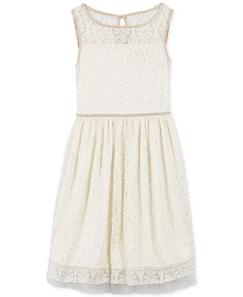a0db559eaaf Speechless Ivory Lace Dress