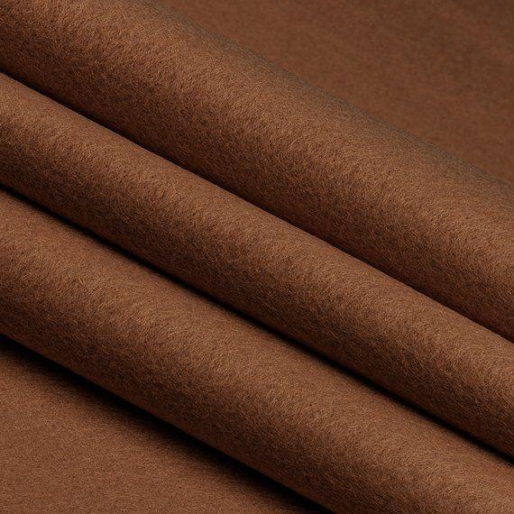 Brown Acrylic Felt by The Yard 72 Wide X 1 YD Long