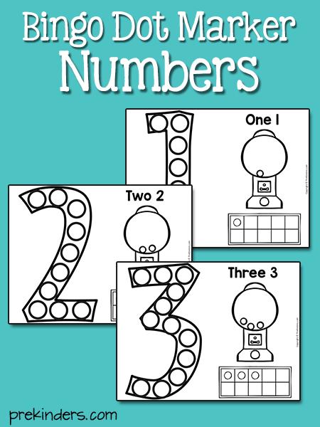 Large Numeral Printables And More Prekinders Numbers Preschool Prek Math Activities Math Activities Preschool