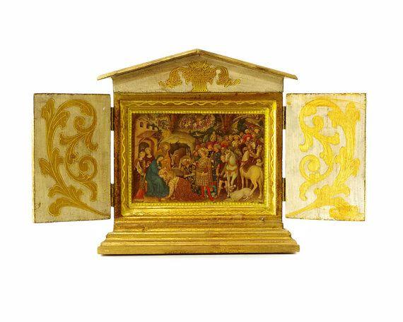 Religious Christmas Music.Christmas Music Box Religious Christmas Art By Gizmoandhooha
