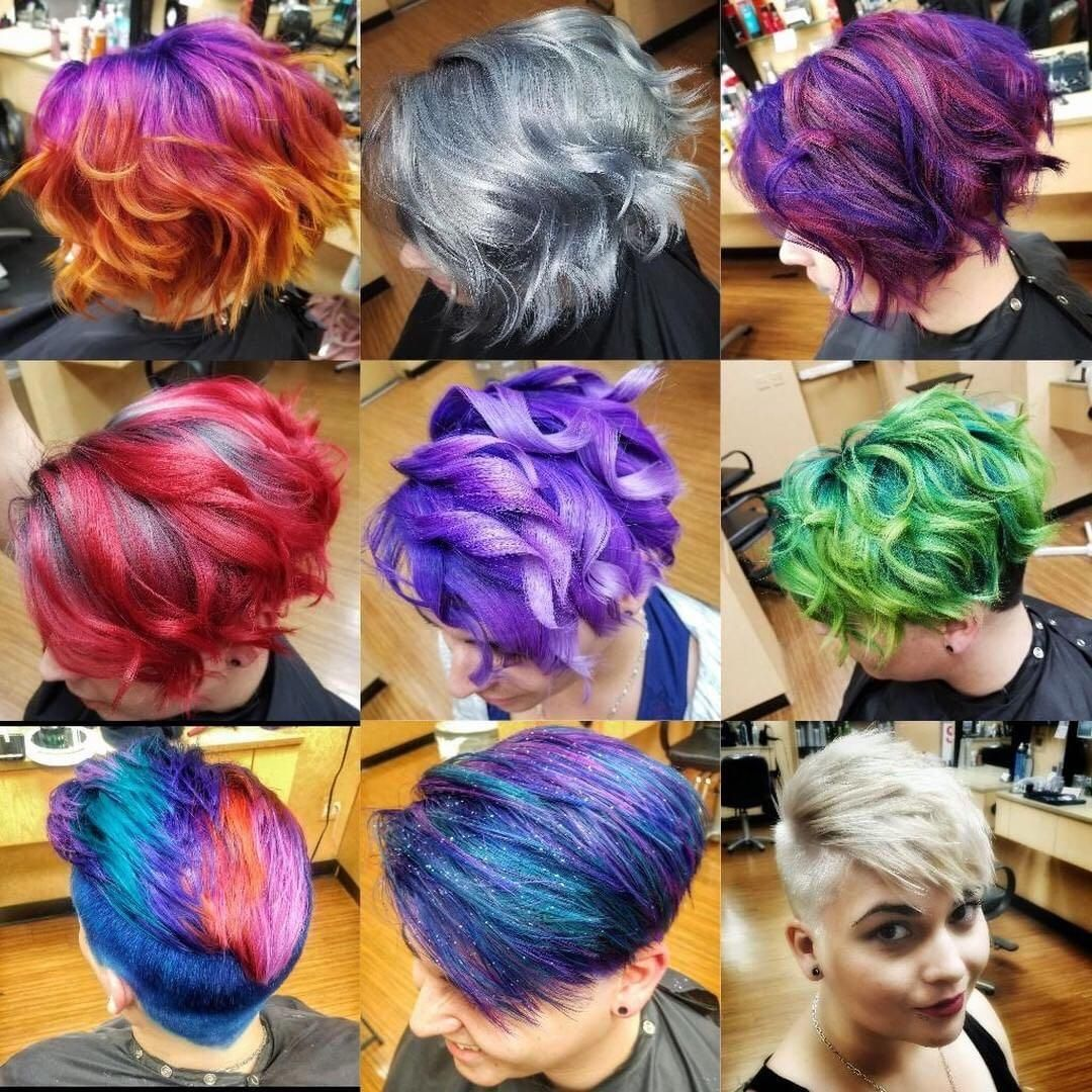 Smartstyle On Twitter Hair Color Green Hair Grow Out