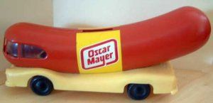 Oh, I wish I were an Oscar Mayer wiener!  I bet we can all still sing the lyrics to this jingle!