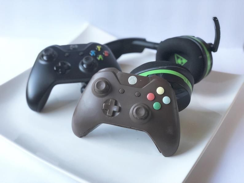 Xbox Controller Xbox Chocolate Video Game Controller Etsy Artesanato Pascoa Artesanato De Pascoa