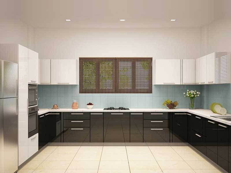 opal g shaped modular kitchen modularkitchendesign kitchendesign modularkitchen on g kitchen layout design id=97085