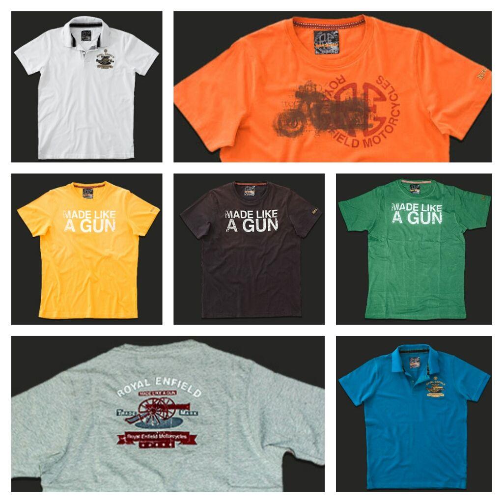 Buenos días!!! Os mostramos algunas camisetas de la nueva colección 2014 de #RoyalEnfield. Que ganas de que llegue el buen tiempo, verdad?? #camisetas #boutique
