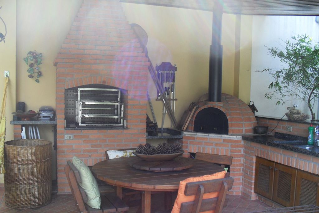 Churrasqueira e forno