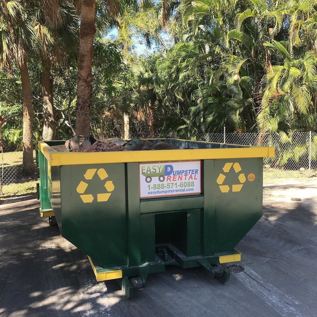 10 Yard Roll Off Easydumpster Dumpster Rental Dumpster Instagram Posts